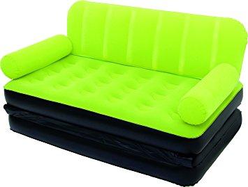 Divano letto gonfiabile sofa bed con pompa 5 in 1 bestway sup floccata ebay - Divano letto gonfiabile decathlon ...