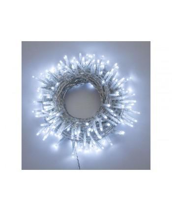 SERIE LUCI LED 13.1+4 m cavo m, 180 miniled bianco freddo albero di natale natalizie