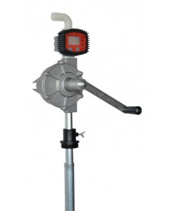 164/CP/T - Pompa travaso rotativa per fusti con contalitri digitale per gasolio - BONEZZI