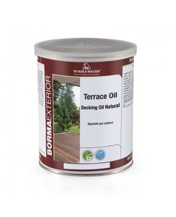 TERRACE OIL 1LT - DEKING OIL - OLIO PROTETTIVO LEGNO PER ESTERNI TRASPARENTE- BORMA WACHS