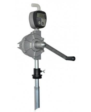 164/CPO/T - Pompa travaso rotativa per fusti con contalitri digitale per OLIO - BONEZZI