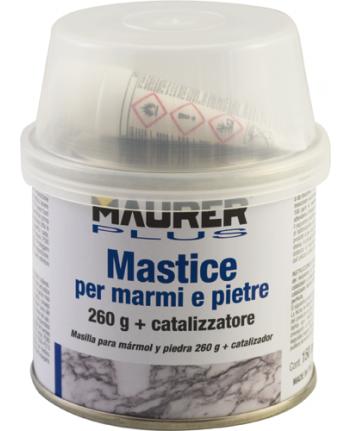 MASTICE STUCCO PER MARMO E PIETRA LT O,750 CON CATALIZZATORE
