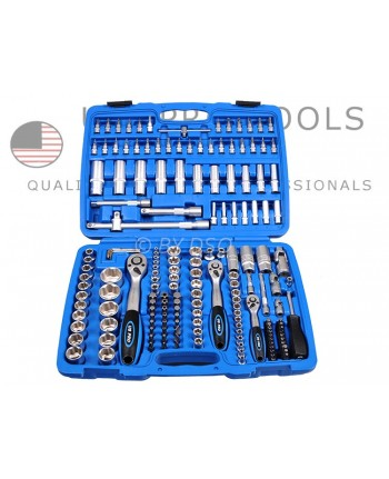 SET CHIAVI A BUSSOLA 171 -PZ1/2 -3/8-1/4 CON PROLUNGHE  Bussole in serie set kit