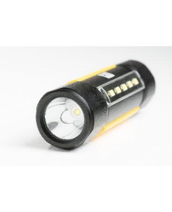 CATERPILLAR - CT3410 - Torcia tattica a doppio fascio, 200 lumen (pannello laterale), 275 lumen (fascio superiore)