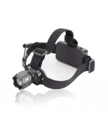 CATERPILLAR - CT4205 - Lampada frontale ricaricabile focusing headlamp, uscita luminosa 380 lumen
