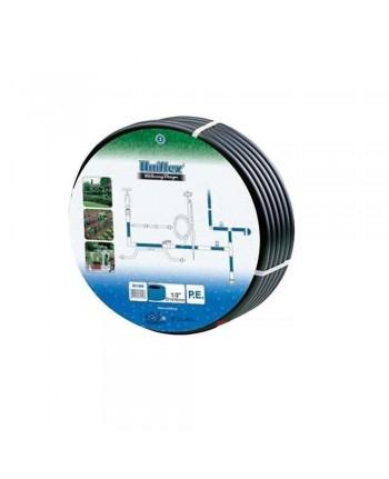TUBO per impianto di irrigazione 15mt - 1/2-16mm - UNIFLEX - rotolo - nero