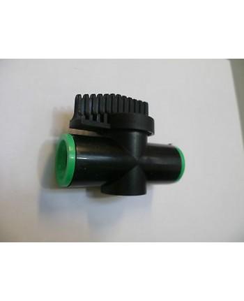 Rubinetto in linea per TUBO  1/2 - microirrigazione impianto Irrigazione
