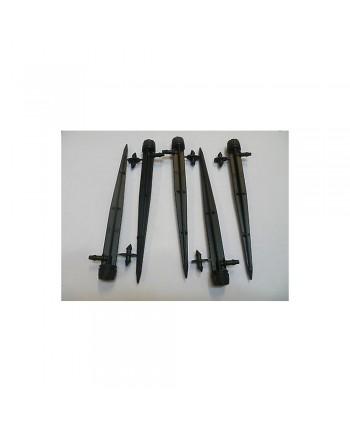 5Pz - Gocciolatoio regol. TUBO CAPILLARE 1/4-6mm - microirrigazione Irrigazione