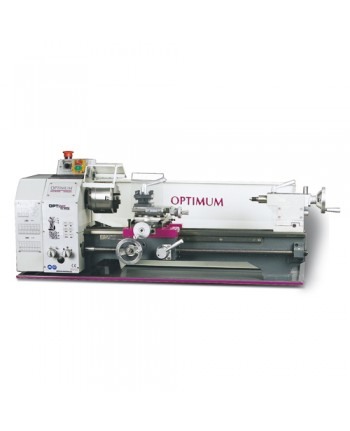 Optimum - OPT050OP5001 - Tornio Parallelo Modello TU2506 - 230V - Dimensioni 125X500 Mm