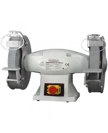 Optimum - OPT054OP1253 - Molatrice Doppia Modello SM 250 - 400V - Dimensioni mola Ø 250x40-32 mm
