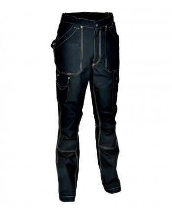 TG48- Cofra Pantalone DUBLIN  multitasche 250 grM2 TECNICO DA LAVORO NERO