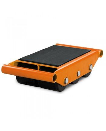 Unicraft - UNI6193060 - Pattini A Rulli Modello TR 6 - Portata 6 T - Con 6 Rullli