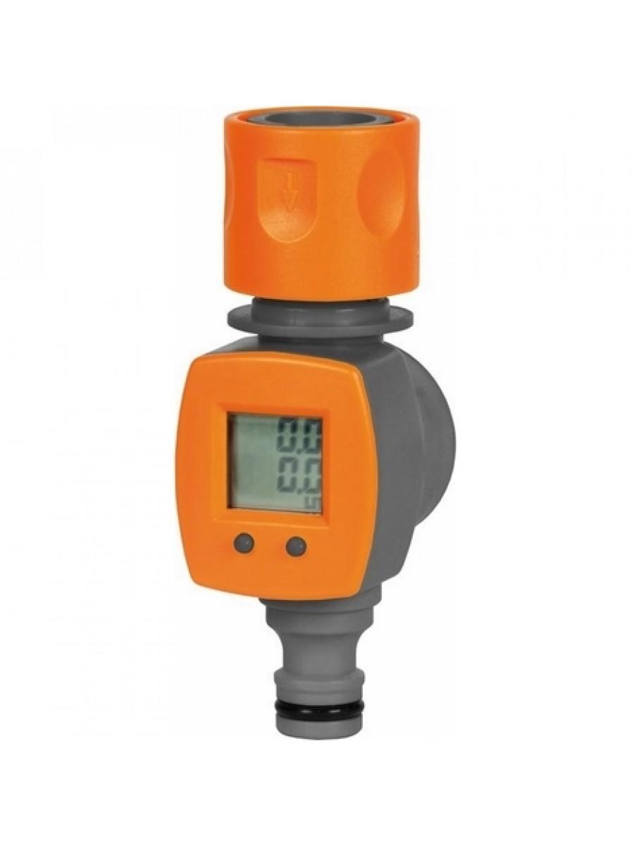 Misuratore digitale portata idrica contalitri acqua giardino - Portata e pressione acqua ...