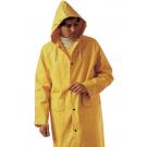 IMPERMEABILE GIALLO  IN PVC - COMPLETO  TAG.  XL -- giacca antipioggia pantalone