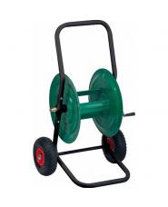 Avvolgitubo in Metallo 80mt - CARRELLO - con ruote Pneumatiche - tipo pesante -