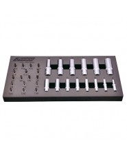 Kravm - KRAE05942 - Set Bussole Superlock E Inserti 31 Pezzi