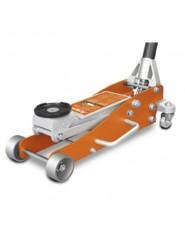 UNICRAFT - UNI6201110 - Cric A Carrello In Alluminio Modello RWHA 1505 - Portata 1,5 T - Dimensioni 576x250x154 Mm
