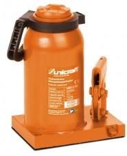 UNICRAFT - UNI6211020 - Cric A Bottiglia Modello HSWH 20 TOP Per Uso Professionale - Portata 20 T - Altezza Max 459 Mm