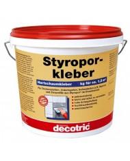 Styropor Kleber - 8kg - COLLA PER POLISTIROLO - DEPRON - pannelli isolanti