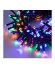 SERIE LUCI LED 300 led multicolor 12.5m esterni - albero di natale natalizie