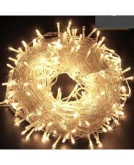SERIE LUCI LED 13 m, 180 miniled bianco CALDO albero di natale natalizie