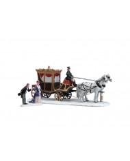 L'arrivo della duchessa in carrozza-The duchess arrives 73309 LEMAX