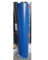 PAVIMENTO PVC BULLONATO - BLU - 1MTX25MT ROTOLO COPRIPAVIMENTO