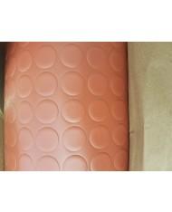 PAVIMENTO PVC BULLONATO - MARRONE TERRACOTTA - 1MTX25MT ROTOLO COPRIPAVIMENTO