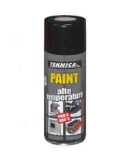 Bomboletta vernice Spray TRASPARENTE Alta temperatura 800° - 400ml - TEKNICA 17-0902