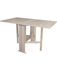 Tavolo in legno nobilitato pieghevole 22/82/140x75x80cm - colore Olmo