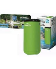Antizanzare verde Thermacell Mini Halo a gas butano e piastrine per esterno