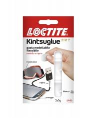 Loctite Kintsuglue Pasta Modellabile Flessibile 3 x 5 g riparazioni Bianco