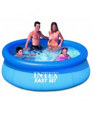 Intex - Piscina Gonfiabile Easy Set cm 244 x 76