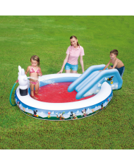 "PISCINA PER BAMBINI ""MICKEY MOUSE"" 231x165x78H  CM GONFIABILE-BESTWAY"