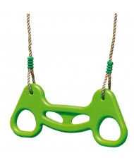 Anelli a Trapezio con corde in Plastica - Aggiuntivi per Altalena da Giardino