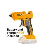 Pistola termocollante a batteria litio 20v nuda - INGCO