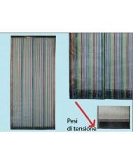 Tenda ZANZARIERA A PANNELLI COLORATI VERTICALI - cm 100x220H zanzariere  porta finestra