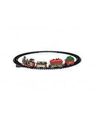 Treno con movimenti express-Yuletide express LEMAX 24472