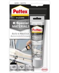 SILICONE PATTEX AUTO-NAUTICA 60 ML NERO