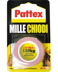 NASTRO BIADESIVO H 19 MT 1,5 MILLECHIODI PATTEX