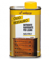 OLIO PER RESTAURO MOBILI  - NOCE -  VELECA 0,250 LT
