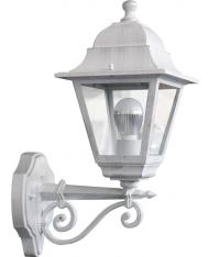 LANTERNA DA GIARDINO BIANCO CHIC ALTA PAPILLON LAMPADA LAMPIONE A MURO