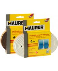 "PARAFREDDO ADESIVO GOMMASTRIP  MT 6-- PROFILO ""P""  MARRONE MAURER"