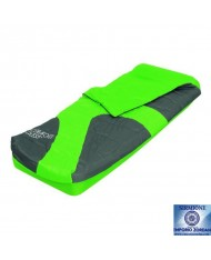 LETTO materassino AIRBED SACCO A PELO SINGOLO VERDE BESTWAY 67434N