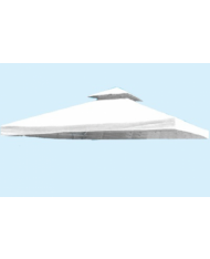 TELO DI RICAMBIO per GAZEBO 3x3mt CON AIR VENT- copertura 531454