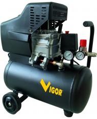 COMPRESSORE VIGOR 220V VCA-24L 1CIL/DIR 2HP 24 L