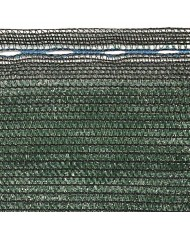 Rete ombreggiante verde  H.1MT x 100mt lineari IN ROTOLO - STUOIA