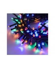 SERIE LUCI LED 750 led multicolor esterni - albero di natale natalizie