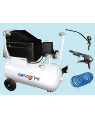 Compressore Soffione 21LT + 3 accessori - lubrificato ad olio