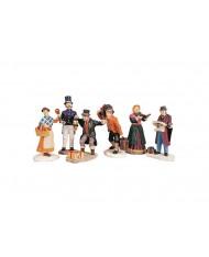 Figure cittadine-Townsfolk figurines 92355 LEMAX